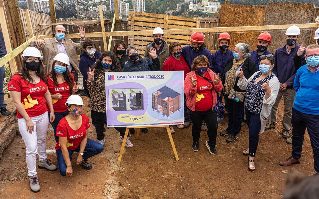 Casa FENIX 2.0 de la USM será la primera vivienda reconstruida del incendio de 2019 en Valparaíso